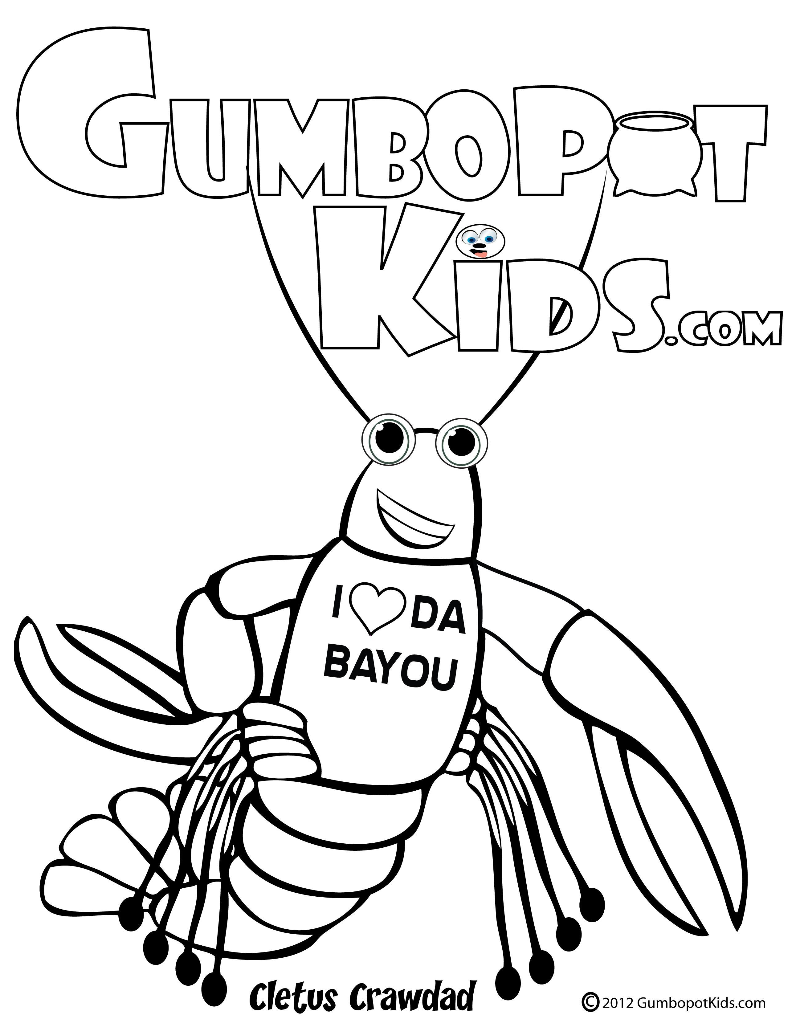 bayou coloring pages - photo#3